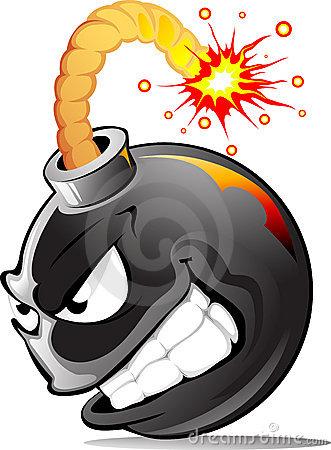 bomba-do-mal-dos-desenhos-animados-19223749